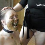 Eat my tasty shit, my happy toilet with Mistress Natalia Kapretti Lesbian Scat xxx [FullHD / 2020]