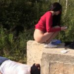 New Toilet Slave Mark Spat On Mistress Scat Slave Domination Video  with MilanaSmelly [FullHD / 2020]