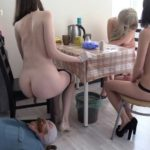 Tea and Chocolate for the toilet slave human toilet [FullHD]