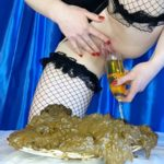 Delicious Dish for My Gourmet  with Anna Coprofield scat porn [FullHD]