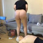 Today it was very difficult for him with MilanaSmelly Scat Slave.