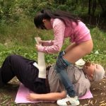 Born to devour female shit with MilanaSmelly Femdom Scat