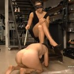 BAD KITCHE MistressGaja BDSM Lesbian Scat video
