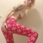 Christmas Leggings Poop ATM with xxecstacy