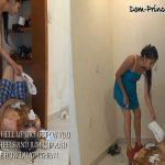 Toilet Slave in Closet Part 4 Samantha HD
