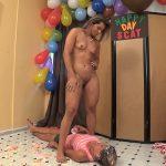 MF-5498-1-1 – Diana, Grazy – HAPPY SCAT BIRTHDAY Ebony Copro